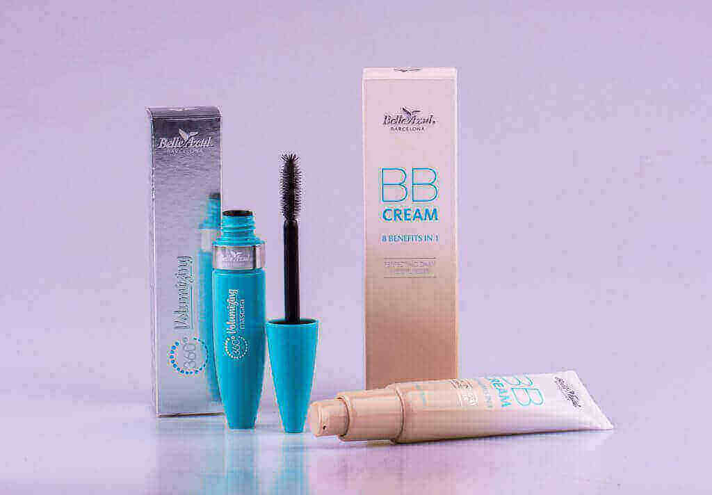 BB Cream y 360º Mascara Belle Azul